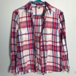 MULTICOLORED WOOLRICH FLANNEL